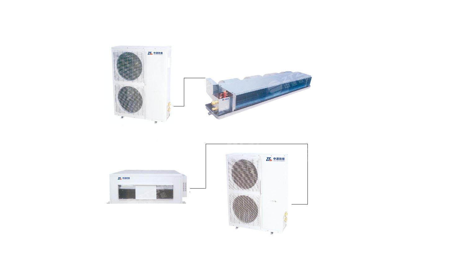 防爆风管送风式空调机组产品特点 防爆风管送风式空调机组技术参数